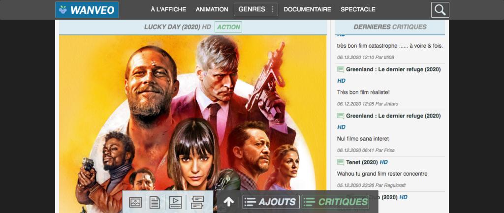 Site pour regarder des films en entier gratuitement sans compte 3