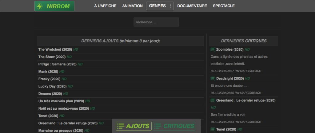 Site pour regarder des films en entier gratuitement sans compte 4