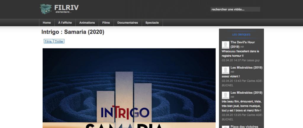 Site pour regarder des films en entier gratuitement sans compte 17