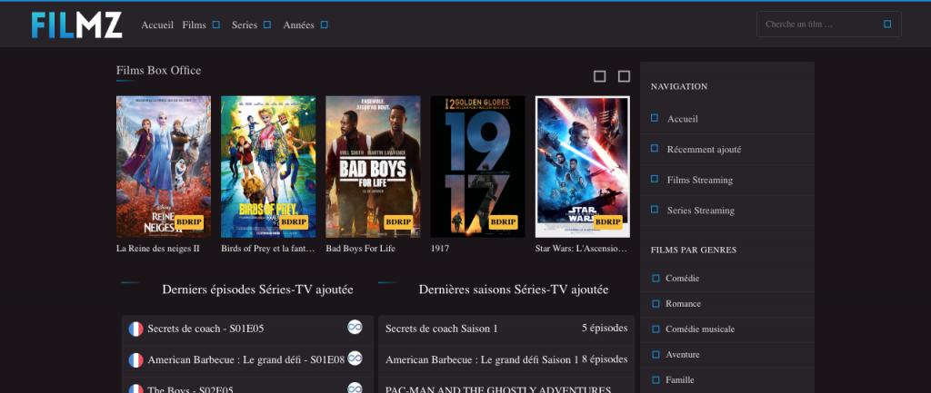 Site pour regarder des films en entier gratuitement sans compte 22